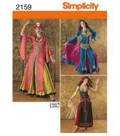 Simplicity Pattern U02159HH  Crafts Costumes-Sizes 6-12