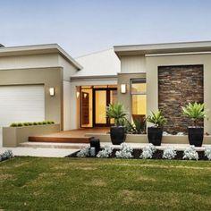 Single Story Modern House Plans
