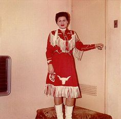 Color photo of Patsy Cline