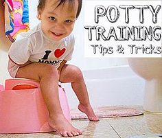 Hunker Down and Other Potty Training Success Tips and Tricks