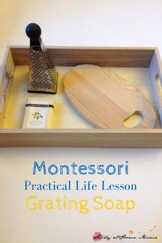 montessori school pratical life shelf - Pesquisa Google