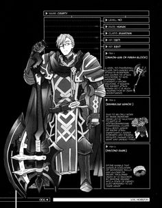 Crusty's stats and equipment. love that his war face best...its so...sinister