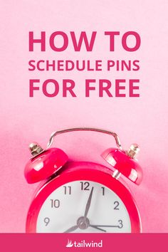 Scheduling your Pins on Pinterest is an awesome way to boost your exposure and save time! Here's how to get started #PinterestforBusiness #PinterestMarketing