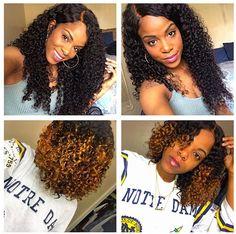 #LAVYHAIR CUSTOMER SHOW !! ig:@kinkycurlygal Hair info is brazilian deep curly…