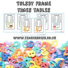 TOLSBY FRAME TIMES TABLES TEACHER DESK www.teacherdesk.co.uk