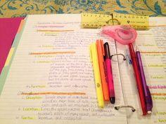 The Preppy Graduate: School Organization: Note Taking