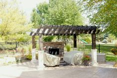 Warm up year-round when you include a fireplace in your outdoor living area. We bet a lot of Minnesotans wish they had one this year! Contact us for a free quote. #outdoorfireplace #patiodesign #landscapingideas #landscapedesign #outdoorliving #twincities #outdoorinnovations