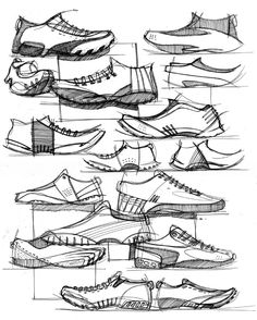fed7fa561bc 15 Best basketball shoes images   Shoe sketches, Sneakers sketch ...