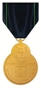 Navy Expert Pistol Shot Medal. I shot expert with the 45 pistol and the M-9