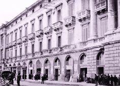 La Palazzata del porto a fine '800 Messina, Palazzo, Community, Mansion, Communion