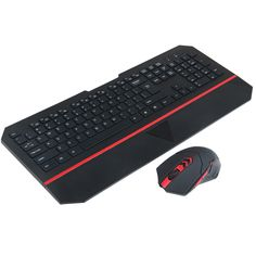 ==> [Free Shipping] Buy Best Silm 2.4G 10M Wireless Keyboard and Mouse Combo with keyboard hand wrist rest and LED light For Laptop PC Home Office LOL Game Online with LOWEST Price | 32800655429