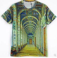 mpt057- t- シャツool素晴らしい面白いnovetly岩3d驚異動物のプリントファッションt- シャツメンズシャツtシャツカジュアルシャツ
