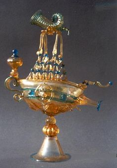 Murano Decor Italian Glass Lights - Murano Glass Venetian Gondola Water Jug