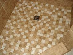 Mosaic Tile Shower Floor, Mosaic Tiles, Shower Ideas, Profile, Flooring, Facebook, Painting, Design, Home Decor