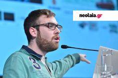 Συνέντευξη GROWING.GR: Neolaia.gr - Γιώργος Γκριτζάλας Athens Greece, First World, Baseball Cards, Image