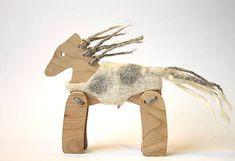 morusa.design / Koník v kožúšku grošák... Moose Art, Animals, Animales, Animaux, Animal, Animais