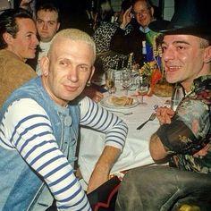 Circa 1994 - Jean Paul Gaultier  and John Galliano
