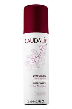 "6 Beauty Editors Share Their Most Treasured #Empties #refinery29 http://www.refinery29.com/makeup-must-haves-favorite-products#slide-16 ""Hydration is key — especially in the summer. I kept this bottle in my bag to spritz whenever I felt myself getting a little dry and red.""Caudalie Grape Water, $22, available at Sephora...."