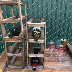 Rustic salvage bar mates! Guess the source. Rustic Reclaimed Green and Gorgeous  Vintageowlrentals.com
