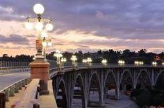 Night Beauty Of Pasadena, California