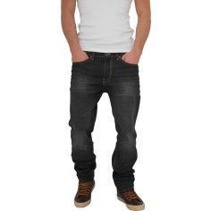 Urban Classics Black Coated Loose Fit Jeans