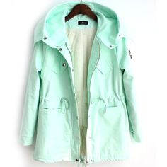 Oh my goodness I want it! green pink winter coat @Wen Duan Duan Duan Duan Duan-Di Adair I think you got me hooked on coats AND online shopping...
