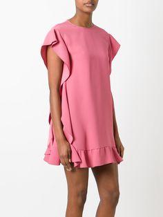 Red Valentino платье с рюшами