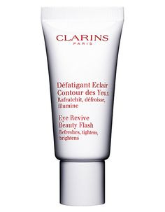 Clarins Eye Revive Beauty Flash 20ml A fresh, comfortable microgel which melts into the skin and acts like an invisible ampradiance patchamp it gently decongests, eliminating dark circles, puffiness and fine lines while hydrating and pro http://www.MightGet.com/january-2017-11/clarins-eye-revive-beauty-flash-20ml.asp