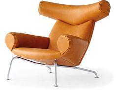 EJ100 Ox Chair by Hans J. Wegner for Erik Jorgensen