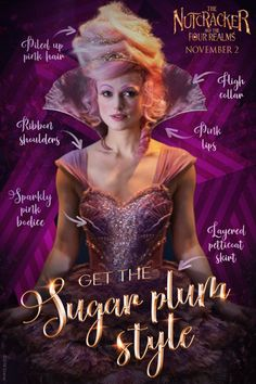 Make this halloween a little more sugar-plum pink! See The Nutcracker and the Four Realms in cinemas now. Nutcracker Christmas, Christmas Fairy, Live Action Movie, Action Movies, Nutcracker Costumes, Sugar Plum Fairy, Der Computer, The Four, Disney Drawings