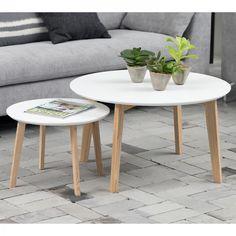 Details Zu Designer Couchtisch 2er Set Chrom Wei Tisch