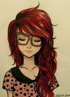 aww her hair! love it