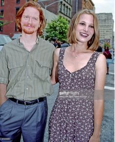 """Eric Stoltz and Bridget Fonda at party for movie """"It Could Happen to. Eric Stoltz, Bridget Fonda, Phoebe Cates, Jim Morrison, Beautiful Celebrities, Red Hair, Movie Stars, Famous People, Actors"""