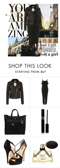"""Pray just a little.. When every little thing.. Starts fallin' to pieces."" by everlyrose-jc ❤ liked on Polyvore featuring Shine, Miss Selfridge, Prada, Sisley Paris, Yves Saint Laurent, Bulgari and Michael Kors"