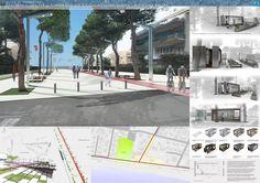 Riqualificazione di viale Circe e viale Europa         (Progetto vincitore)