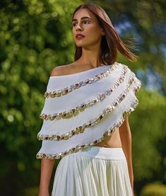 Lovely Indian Stylish Fancy Crop Top Skirt Latest Designer Party Wear Indian Dress for Women Lovely Indian Stylish Fancy Crop.