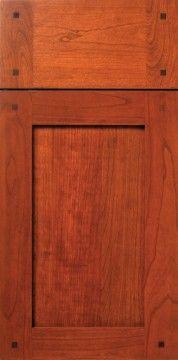 Craftsman Style Cabinet Door, Cherry,