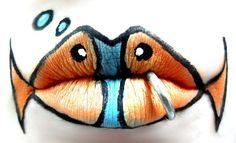 Изкуство върху устни/ Lips ART