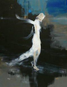 "Saatchi Art Artist OSCAR ALVAREZ; Painting, ""Nostalgia 7"" #art"
