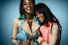 So, About That Naomi Campbell-Jourdan Dunn Burberry Campaign…the Makeup Artist in Charge Dishes Exactly How Girls with Dark Skin Tones Can Get the Look at Home