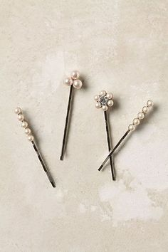 Turn broken jewelry into bobby pins using industrial-strength E-6000 glue.