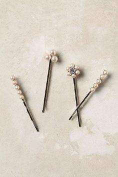 Glue Broken Earring Pieces Onto Bobby Pins To Dress Them Up Using Industrial Strength E-6000 Glue DIY