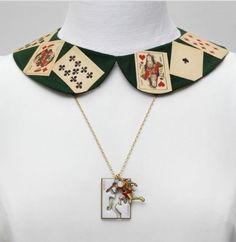 Handmade collar necklace found on trend hunter