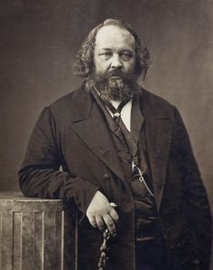 Mikhail Bakunin circa 1860 Paris. Anarchist and rebel long before Billy Idol met the Beastie Boys [1518  1923 by Gaspard-Félix Tournachon]