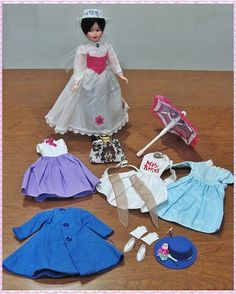 Mary Poppins doll ~ from 1960s