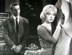 With Yves Montand in Let's Make Love