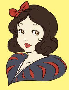 Snow White Digital Fan Art
