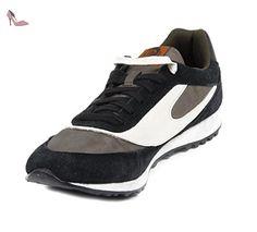 Diesel Sharkeroz, Chaussures Homme, Noir/Vert, 45 EU - Chaussures diesel (*Partner-Link)