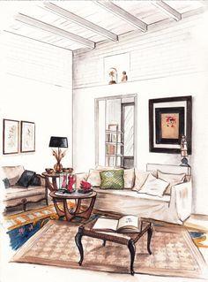 Interiores | Garabato Mural