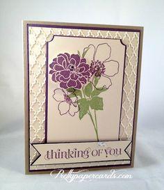 Fabulous Florets Sympathy Card